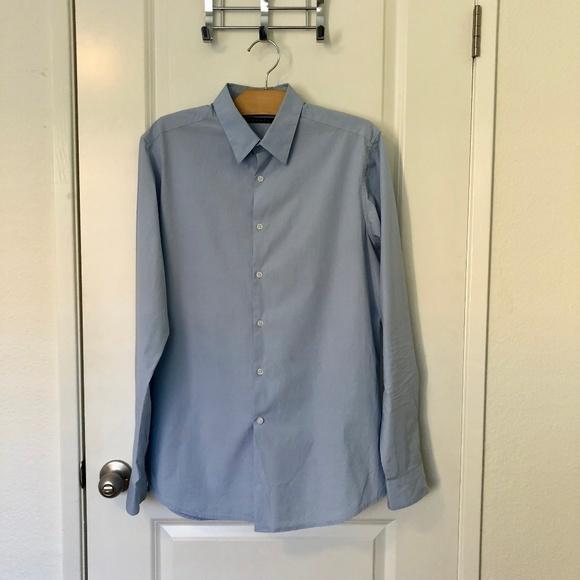 1b76dd711e5 Theory Shirts | Mens Slimfit Dover Sword Dress Shirt | Poshmark